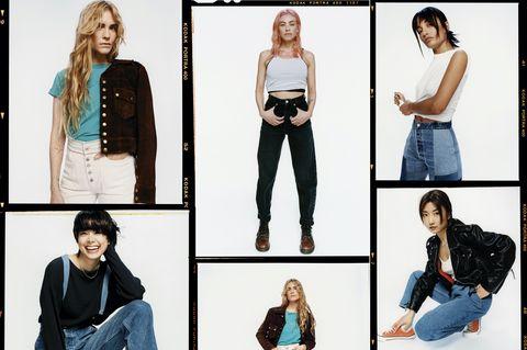 Jeans, Clothing, Denim, Shoulder, Fashion, Textile, Waist, Trousers, Style,