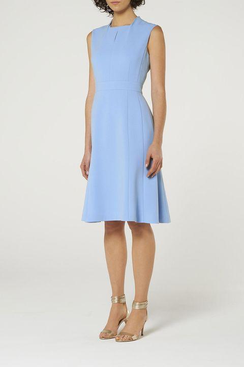L.K. Bennett BLUE DRESS