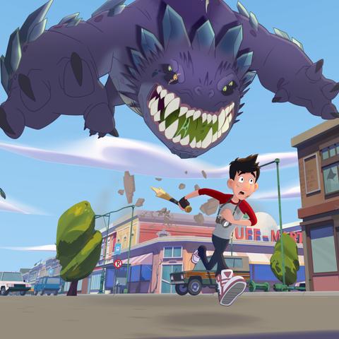 Netflix Kids' Shows - Last Kids on Earth