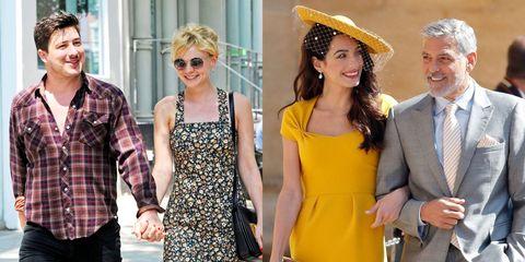 Eyewear, Yellow, Clothing, Fashion, Street fashion, Sunglasses, Dress, Headgear, Style, Fashion accessory,