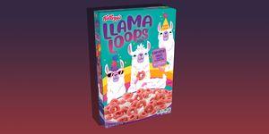 Llama Loops cereal