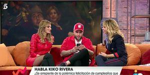 Kiko Rivera llama a su hermana en directo