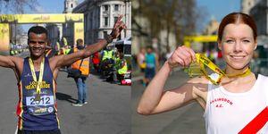 London Landmark Half Marathon winners