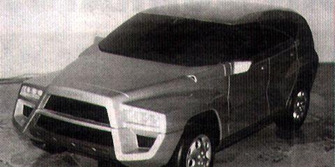 Land vehicle, Vehicle, Car, Automotive design, Hood, Automotive exterior, Sport utility vehicle, Bumper, City car, Concept car,