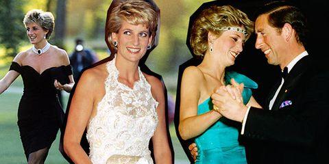 Lady Diana è la regina delle spalle scoperte: 50 abiti lo dimostrano