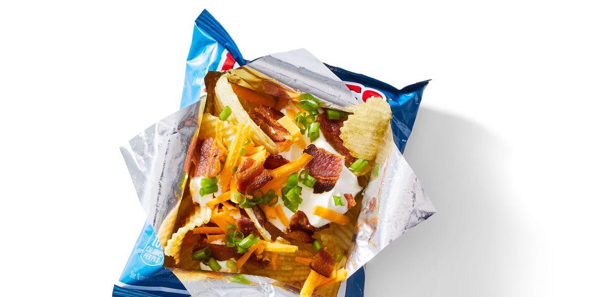 Загруженный пакет для закусок «Картофель»