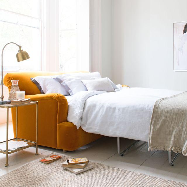 loaf, pudding sofa bed, £1695
