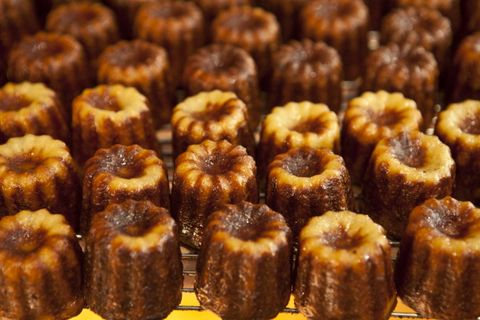 Caneles Speciality Cakes in St Emilion, Bordeaux, France