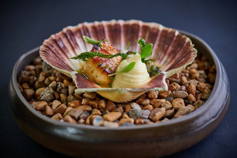 a scallop dish at the loch and the tyne in windsor