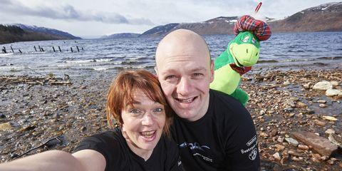 Loch Ness Marathon Selfie
