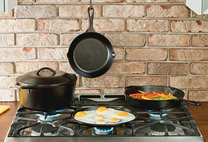 Replace Your Old Nonstick Pans With This Lodge Cast-Iron Set for $50