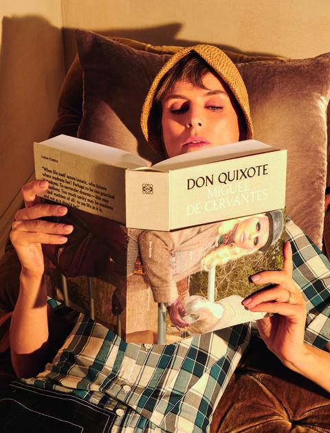 Reading, Book, Sitting,