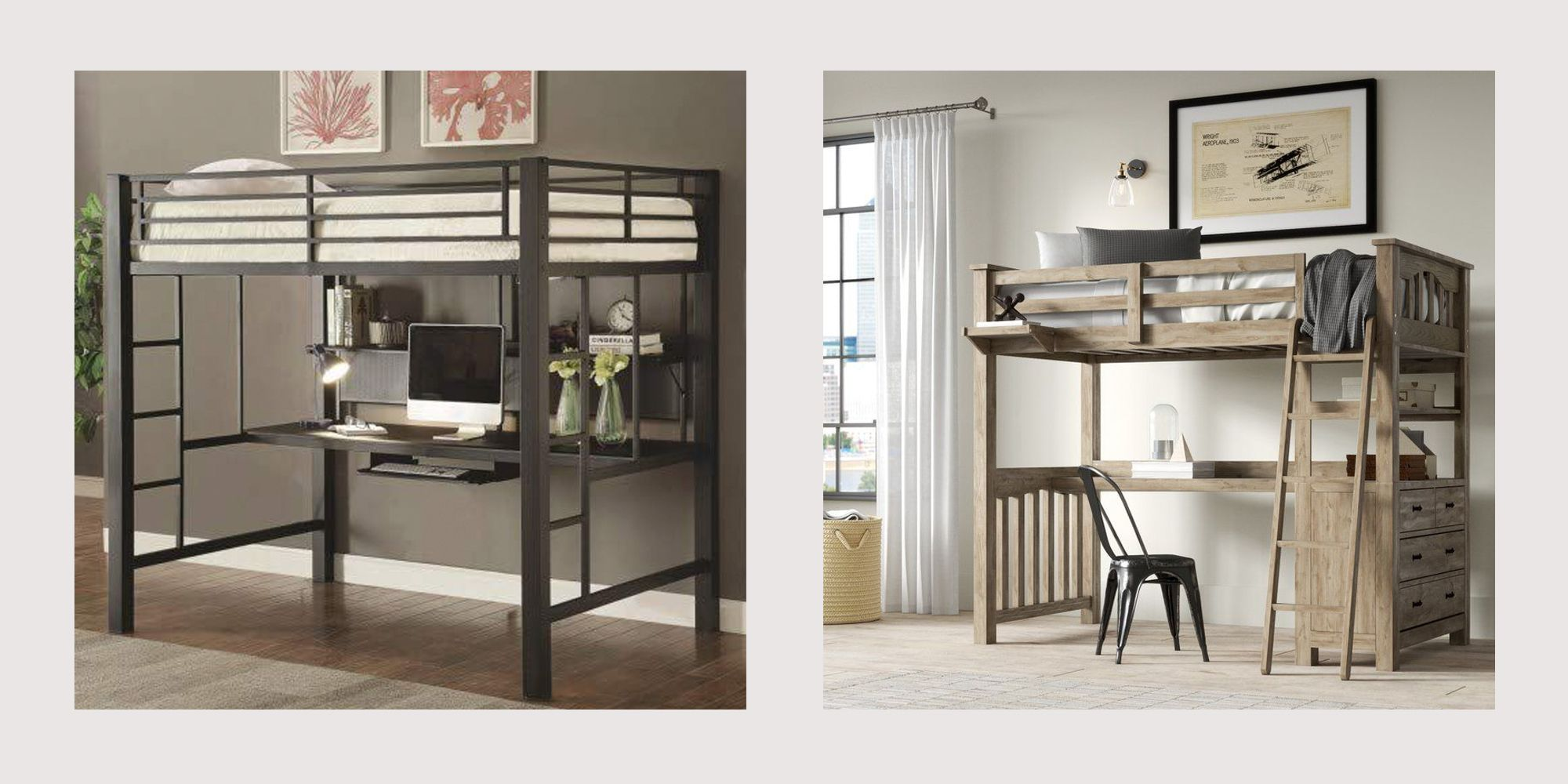Picture of: 13 Best Loft Beds For Adults Sophisticated Loft Beds For Apartments And More