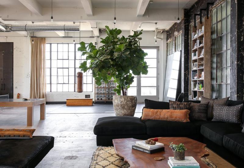 Arredamento Ufficio Stile Industriale : Il loft in stile industriale a venice beach di alexander design