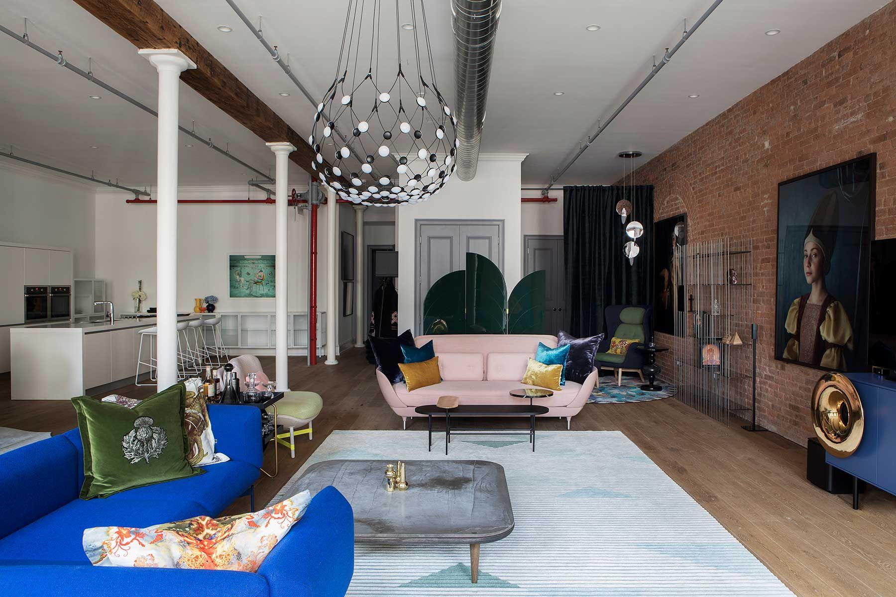 10 ideas que te animarán a poner un sofá... ¡rosa!