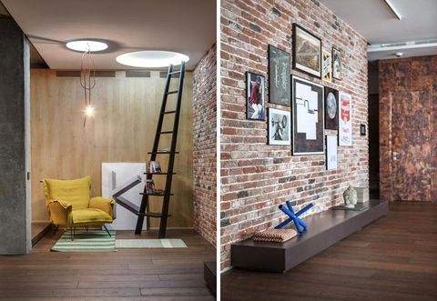 Wood, Floor, Interior design, Flooring, Wall, Room, Ceiling, Hardwood, Fixture, Picture frame,