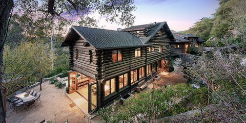 log cabin santa monica