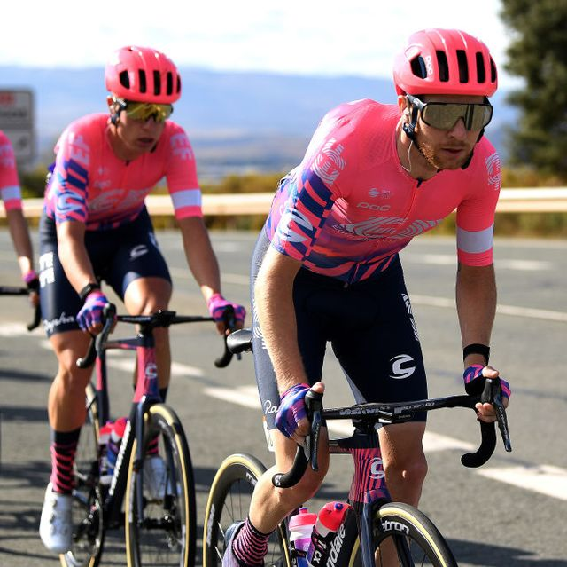 team ef pro cycling at the 75th tour of spain 2020   stage eight