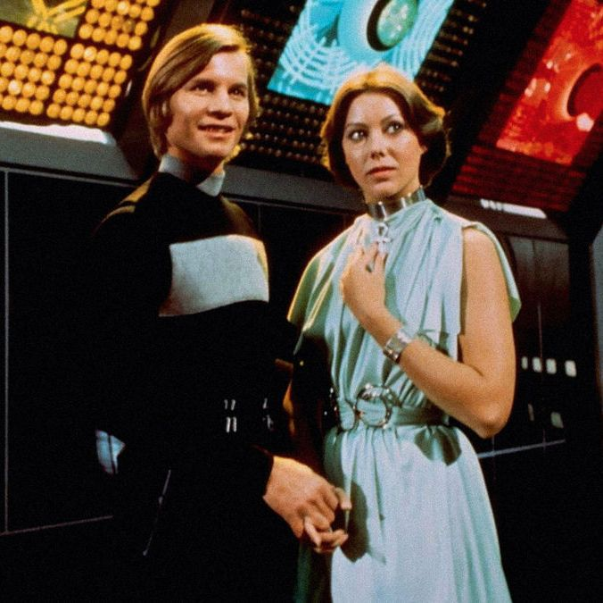 Logan's Run (1976) In the distant future, an idyllic utopia is revealed to be something much more sinister—in order to maintain equilibrium and conserve resources, all humans are killed when they turn 30 years old. Michael York plays a former exterminator whose time is up, and he will stop at nothing to survive past his expiration date.
