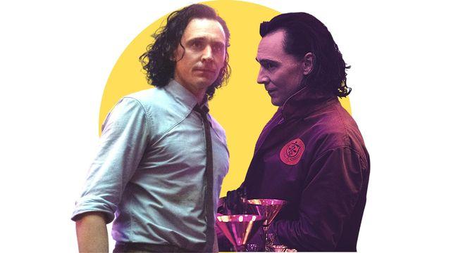 tom hiddleston caracterizado como loki en la serie de marvel