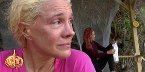 Loli Álvarez llora en Supervivientes tras su pelea con Colate por un cebo