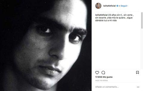 Antonio Flores es recordado por su hermana Lolita