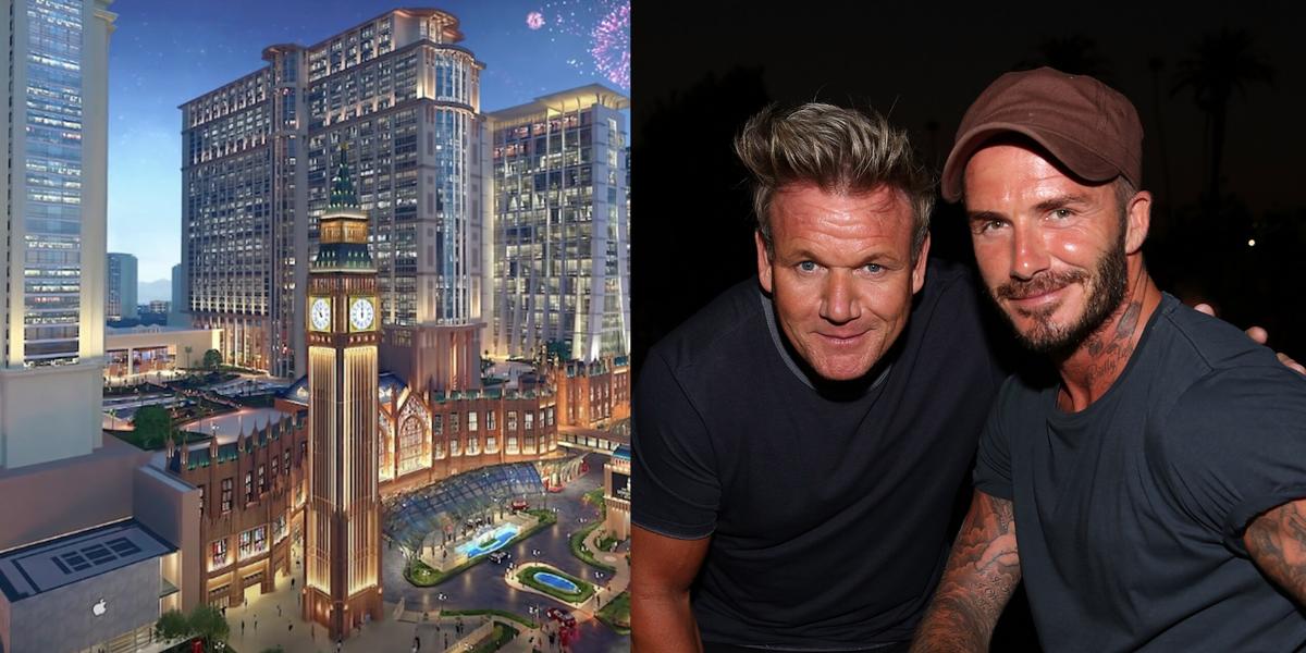 Gordon Ramsay And David Beckham Are Opening A London-Themed Resort - Delish.com