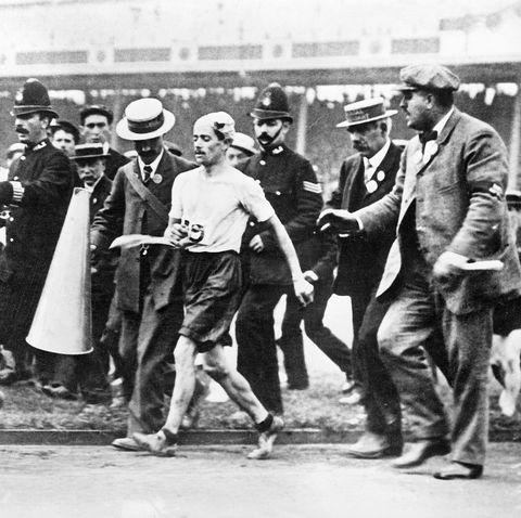 pietri dorando olympic marathon runner