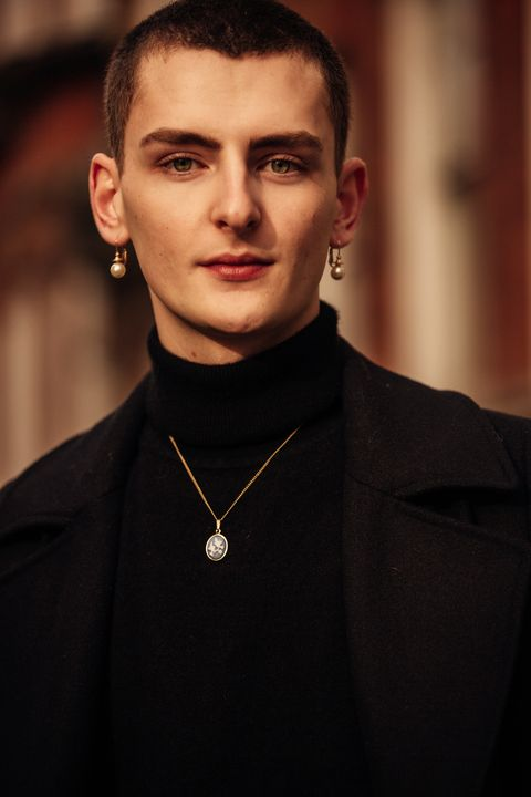 Streetstyle op London Fashion Week geschoten door fotograaf Jonathan Daniel Pryce.