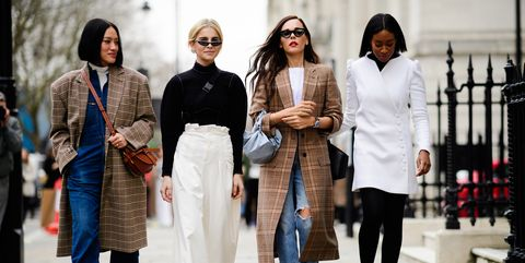 Fashion, People, Street fashion, Fashion design, Eyewear, Event, Outerwear, Style, Runway,