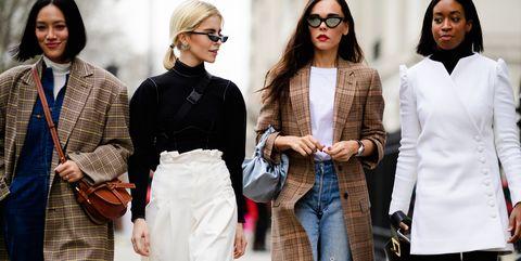 Street fashion, Fashion, Clothing, Eyewear, Outerwear, Jeans, Coat, Fashion design, Overcoat, Textile,