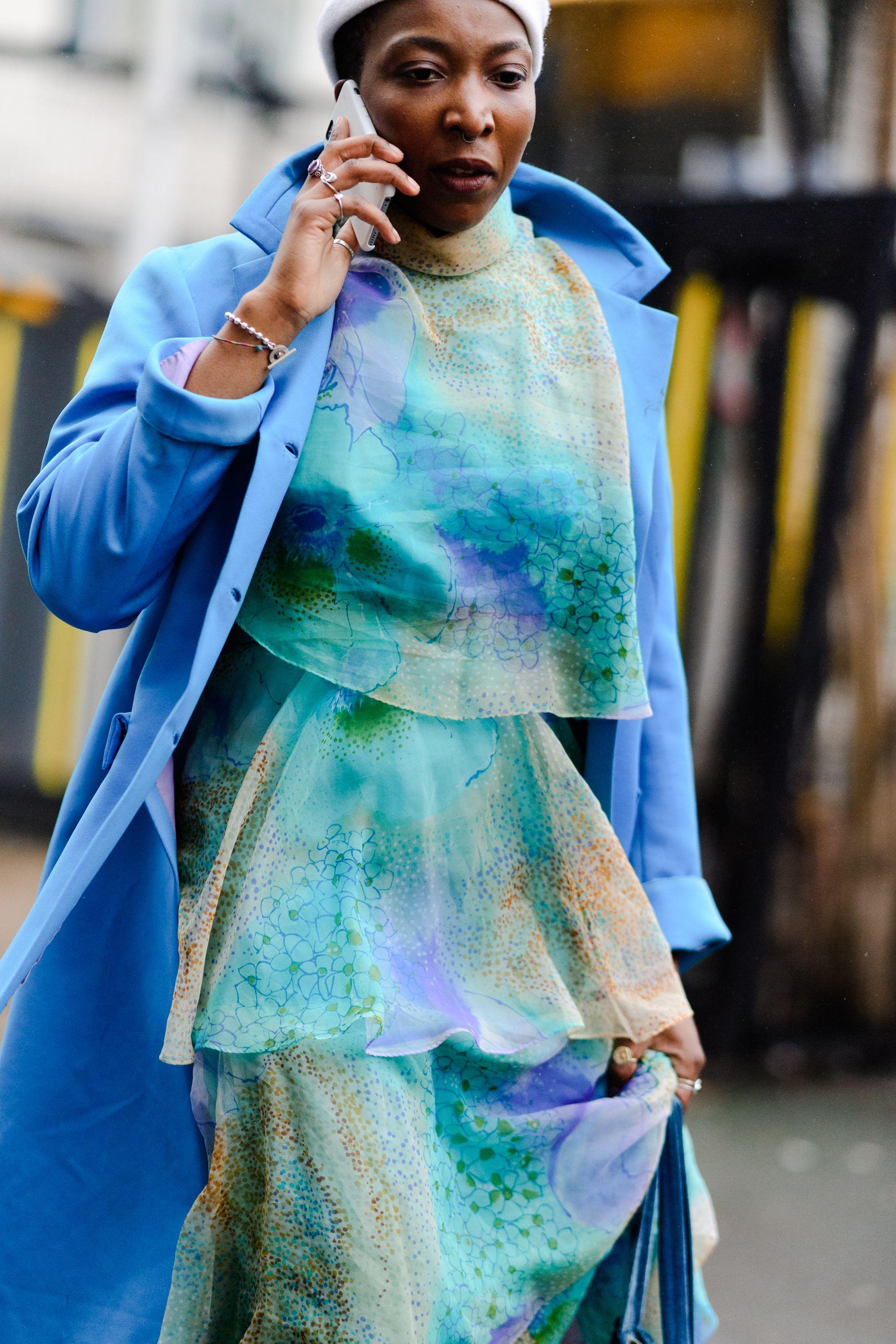 Afbeeldingsresultaat voor turquoise street style