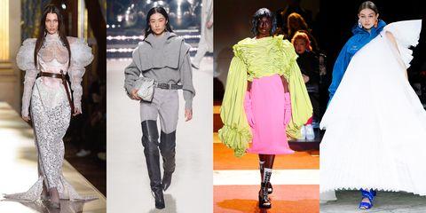 Fashion model, Fashion, Clothing, Runway, Outerwear, Footwear, Street fashion, Fashion show, Fashion design, Haute couture,