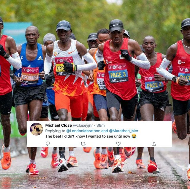 london vs manchester marathon twitter spat