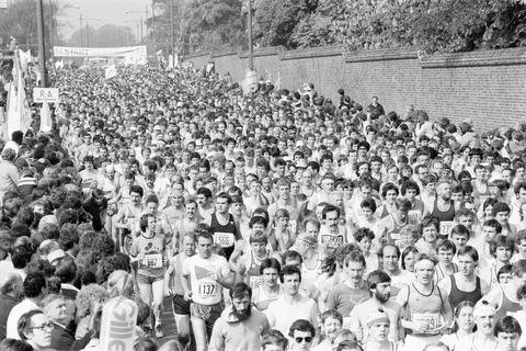 London Marathon 1982