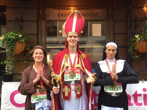 Man Dressed as Bishop Nabs Purse Snatcher