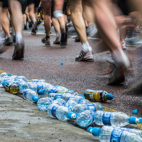 runners face disqualification for littering