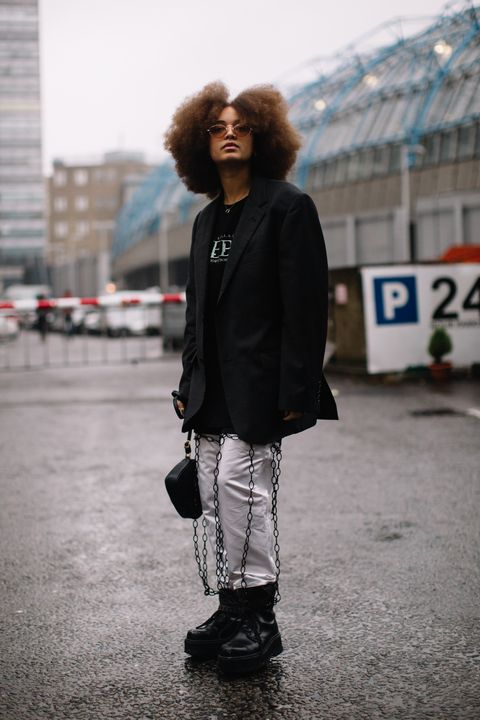 White, Photograph, Street fashion, Black, Snapshot, Standing, Fashion, Outerwear, Footwear, Jacket,