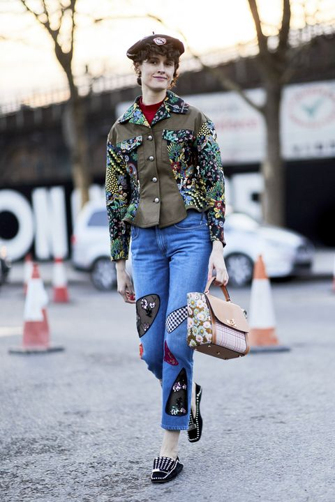 Street fashion, Fashion, Clothing, Denim, Jeans, Footwear, Snapshot, Jacket, Shirt, Outerwear,