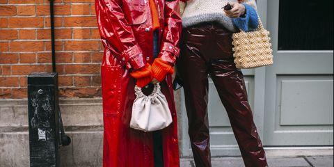 pantaloni vinile, pantaloni di vernice