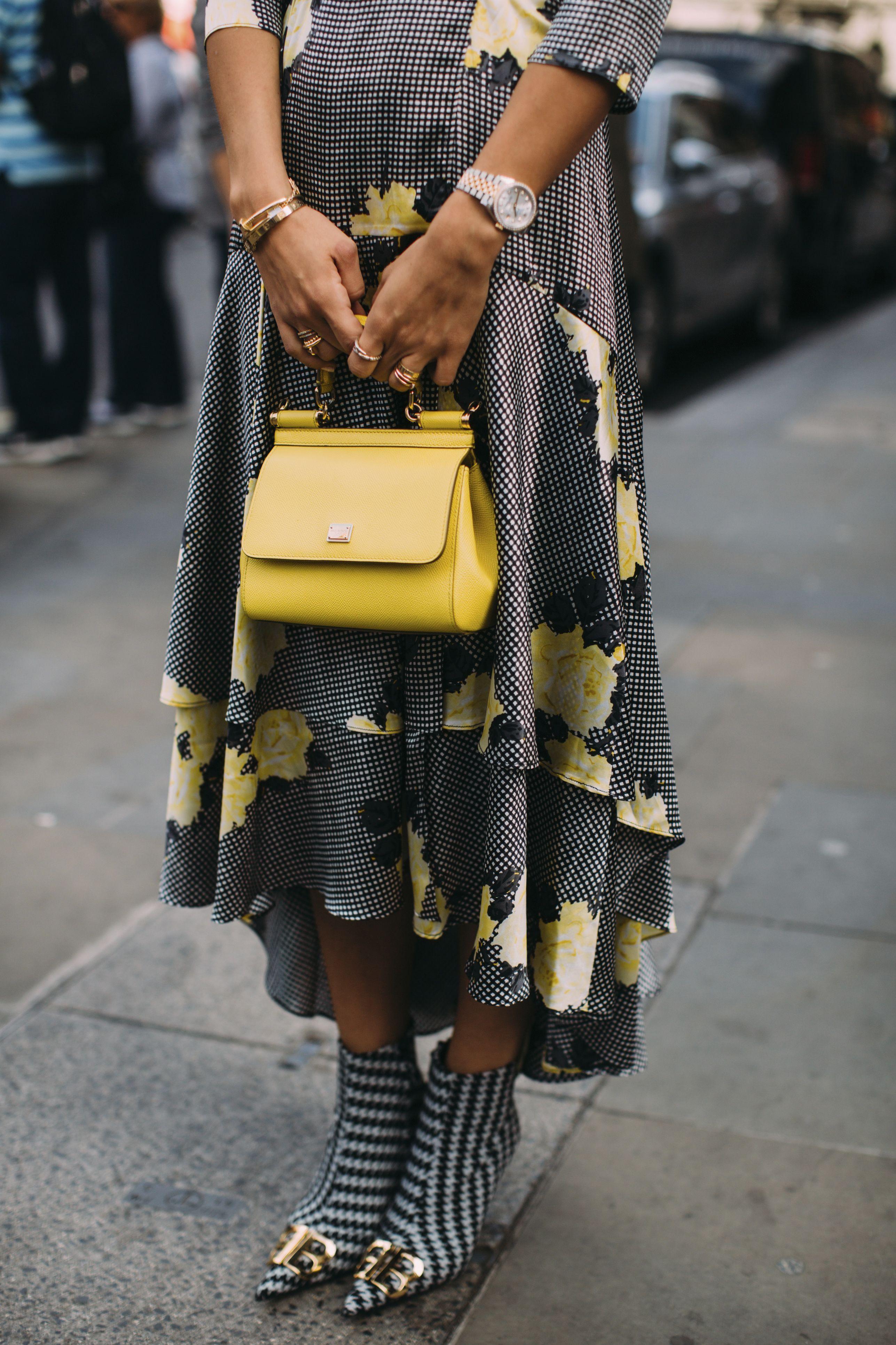 borse gialle 2019, borsa gialla, colori moda borse 2019