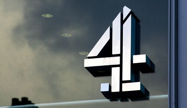 the logo of britain's channel 4 television