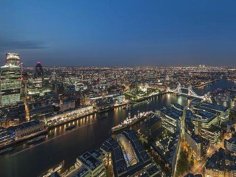 Cityscape, Metropolitan area, Urban area, City, Aerial photography, Sky, Metropolis, Skyline, Landmark, Night,