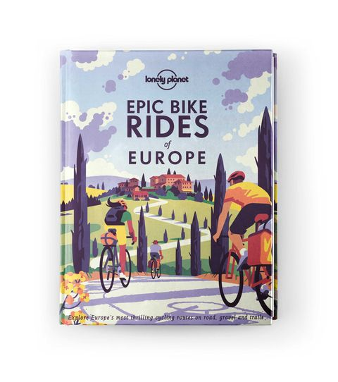 from epic bike rides of europe, a book published by lonely planet
