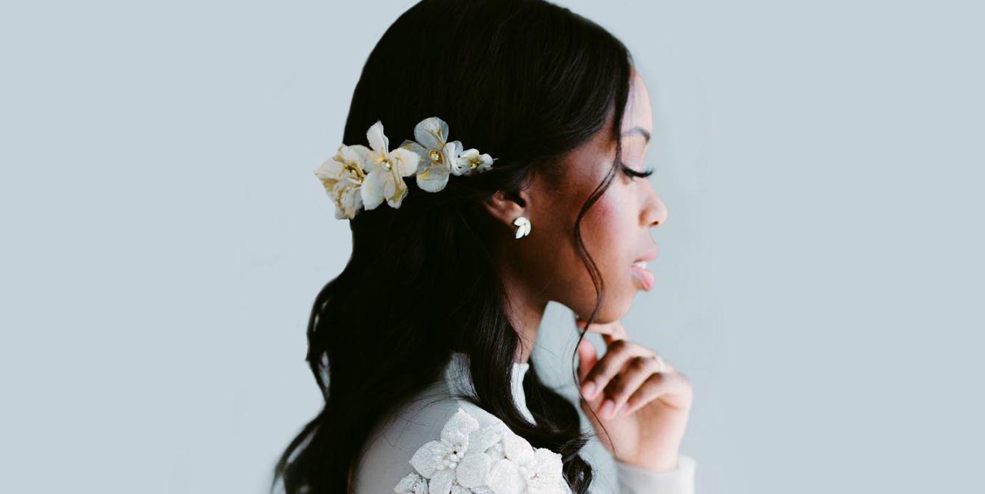 Soft sexy updos wedding hair