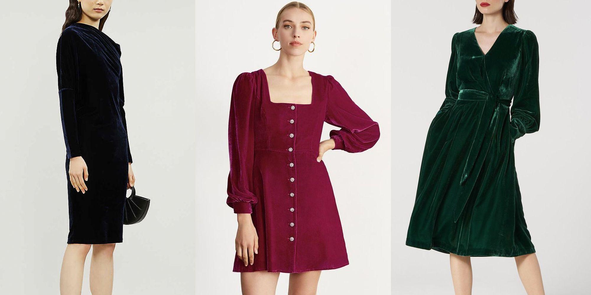 Best long sleeve velvet dress to buy now