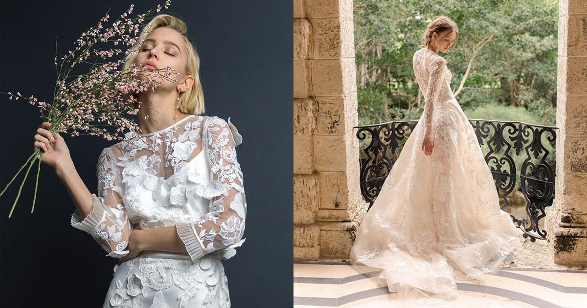 26 Long Sleeve Wedding Dresses Best Fashion Editor Picks