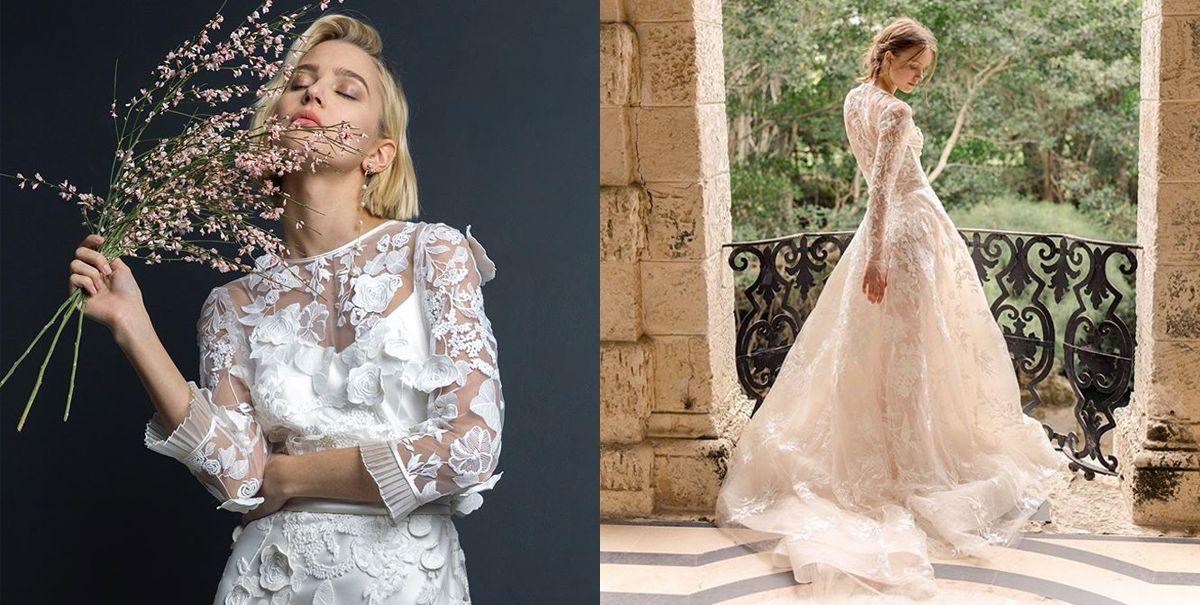 26 Long Sleeve Wedding Dresses Best Fashion Editor Picks