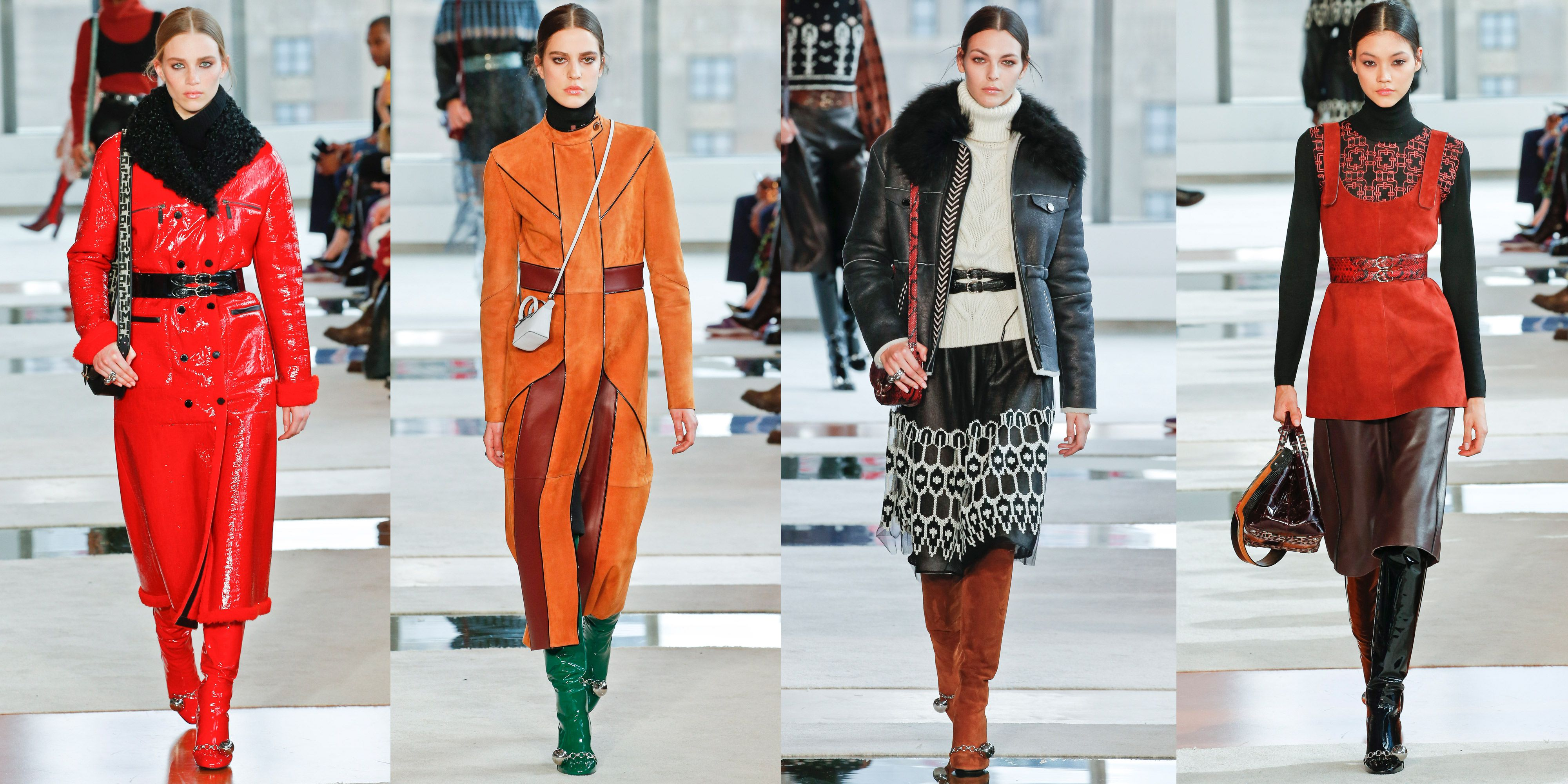 Every Outfit From Longchamp's Fall 2020 Runway Collection