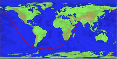 Map, World, Ecoregion, Earth, Atlas, River delta,